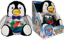 New Teddy Tank Betta Fish Bowl Penguin Aquarium Children Best Gift Seen On TV