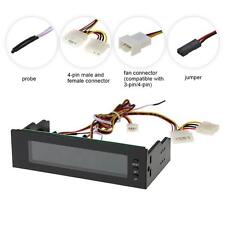 PC One Channel Desktop Cooling Fan Speed Controller LCD Monitor Front Panel P7D6