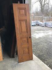 Bova 18 Raised Panel Passage Door 21.5 X 79.25 X 1 3/8� Wood grain