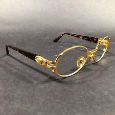 Vintage Gianni Versace Medusa Gold Rim Sunglasses FRAMES ONLY MOD. S02 COL. A11