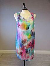 Mado Et Les Autres dress  size  40 Fits 12/14/  UK  Watercolour print