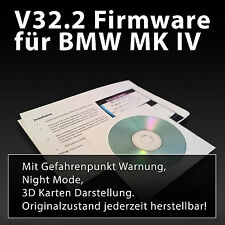 BMW / Mini Navigation Firmware V32.2 neueste Version Blitzer Warnung & Nightmode