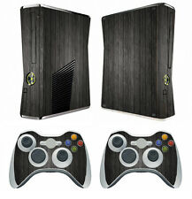 Wood 267 Vinyl Decal Cover Skin Sticker for Xbox360 slim and 2 controller skins