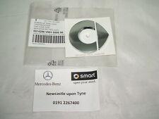 Genuine Smart Forfour Roadster Fortwo Silver Adhesive Bonnet Badge Q0014299V001