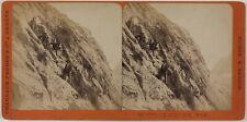 Les Mauvais Pas Montagne Savoie Suisse Photo Stereo PL28Th1n34 VintageAlbumine