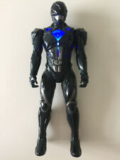 "Power Rangers Movie Light Up Action Figure 7"" Black Bandai Toys"