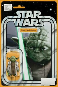 STAR WARS 66 JOHN T CHRISTOPHER EXCLUSIVE YODA  ACTION FIGURE VARIANT NM
