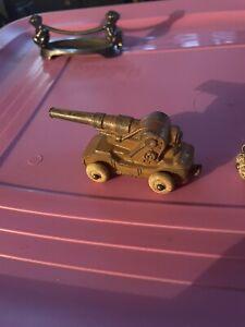 Barclay artillery gun and tractor