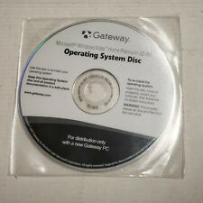 GATEWAY OPERATING SYSTEM DISC MICROSOFT WINDOWS VISTA HOME PREMIUM 32-BIT A3.3