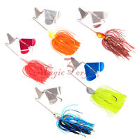 Buzz Bait Fishing Lures Spinner Bait Jig Lure Bass Pike Perch 21g/0.74oz Colours