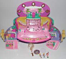 Polly Pocket Hatbox light up fashion show 5x personaje 80er Mini vintage escenario Star