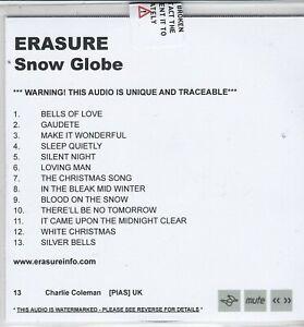 ERASURE SNOW GLOBE RARE PROMO CD