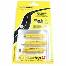 New SwissStop 4 Pack Flash Pro Yellow King Brake Pads - Shimano / SRAM