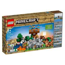 LEGO Minecraft 21135 The Crafting Box 2.0 Building Blocks Minifigures Kit Toys K