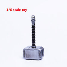 "1/6 Thor hammer Weapon Props Accessories Model F 12"" Figure Body Collection Toys"