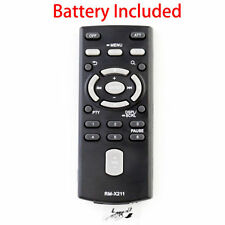 New Remote RM-X211 Control for Sony Car Stereo CDX-GT40UW CDX-GT45U