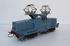 """TRAINS  HORNBY  """"0""""  ÉLECTRIQUE   LOCO BB 13001   SNCF  BON ÉTAT  1957"""