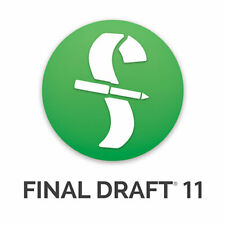 Final Draft 11 Academic for mac and wind lifetime fast Deviled