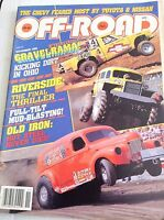 Off-Road Magazine Kicking Dirt In Ohio November 1986 032317NONRH