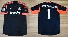 SIZE M REAL MADRID 2012/2013 AWAY GOALKEEPERS SHIRT CAMISETA GK MAGLIA CASILLAS