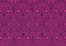 17,73€/qm Stoff Tula Pink De La Luna Sugar Skulls Clair 30cm
