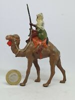 Pre-war Britains 54mm lead veiled Arab mounted on a camel from set 193 (#2)
