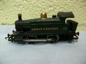 Holden 0-4-0 Tank 101 GWR Green Livery By Hornby R.333 '00' Light Use 1980 Issue