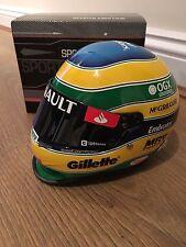 Casco de escala 1/2 Bruno Senna 2012 Lotus Renault timón guapos F1