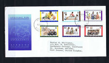 Bermuda 1997 Education - First Day Cover - Used - Addressed