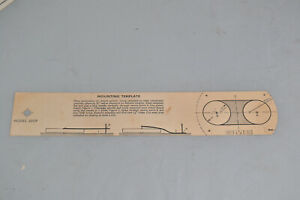 SME 3009 3012 Series II Early Mounting Template