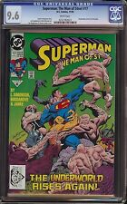 Superman Man of Steel # 17 CGC 9.6 White 1st appearance of Doomsday