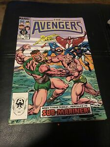 Avengers #262 NM 9.4 (1985) - Sub-Mariner appearance