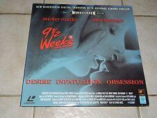 LD - 9 1/2 Wochen - Kim Basinger - CBS Fox - PAL - Englisch - Wide Screen Ed.