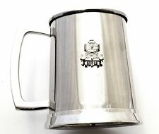 Flying Scotsman Pint Tankard Stainless Steel Ideal Train Driver Gift
