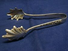 New listing S. Kirk & Son Sterling Silver Ice Tongs 6 1/4'' Long 2.18 Ozt No Monogram