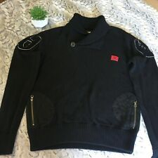 We-Well Established black sweater Vintage Sz L pullover sweater womens Black