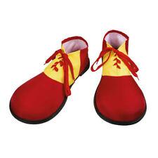 Schuhe Clown, rot-gelb, Einheitsgröße