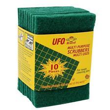 UFO Brand 10 Piece Multi Purpose Scouring/Scrubbing Pads