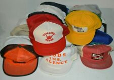 Vintage Ironic Hipster Trucker Mesh & Foam Baseball Cap Hat 80s & 90s lot of 50