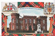 Scotland Postcard - The Castle and Flora MacDonald's Statue - Inverness   A5082