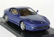 Bang 1/43 Scale - 8024 Ferrari 456 GT Stradale Metallic Blue Diecast Model Car