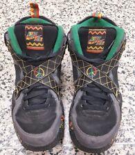 Nike Air Raid Urban Jungle Black Green Pine Gray Sz. 8.5 US 642330-003 Peace