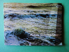 Rolex  Submariner  Anleitung / Booklet  -  Ang -  1976