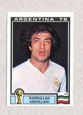 ARGENTINA '78 - Panini 1978 -Figurina-Sticker n. 281 - ABDOLLAHI - IRAN -Rec