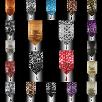 ABSTRACT LUXURY SHINY SEQUINS DECO TASSELS PARTY WEDDING BED TABLE RUNNER CLOTH