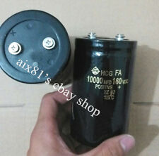 1 PCS NEW 10000uF 160V Filter / Electrolytic Capacitor 65x105mm Screw Terminal