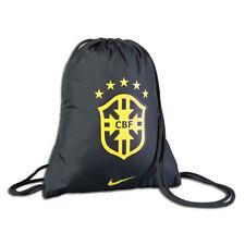 Nike Brazil World Cup 2014 Soccer Shoe Sack Gym Pack Fitness Bag New Black