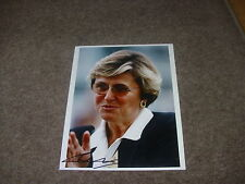 Christiane HEAD  French Horse Racing Trainer 21/5/95  Hand SIGNED Press Photo