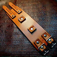 Leather Cuff Bracelets Johnny Depp cuff Custom watch wristband Made in NYC Best!