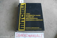 1983 Mitchell Domestic Cars Tune-Up Mechanical Repair Service Manual